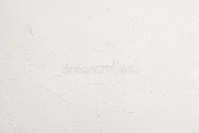 Pusty biały grunge cementu ściany tekstury tło obrazy stock