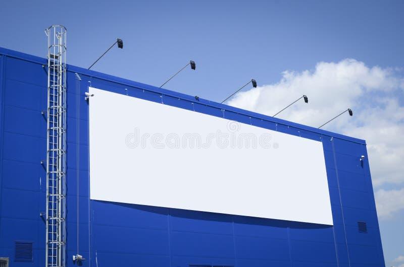 pusty billboard obrazy stock