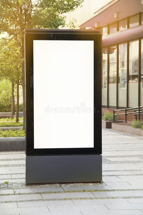 Pusty billboard obraz royalty free