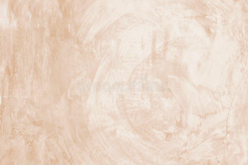 Pusty brown grunge cementu ściany tekstury tło, sztandar, inter fotografia royalty free