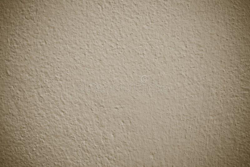Pusty brown grunge cementu ściany tekstury tło, sztandar, inter obraz stock
