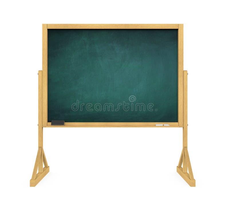 Pusty Chalkboard Odizolowywający obraz royalty free