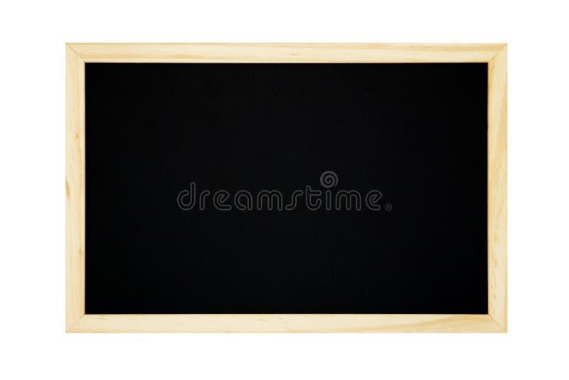Pusty chalkboard odizolowywający na białym tle obraz royalty free