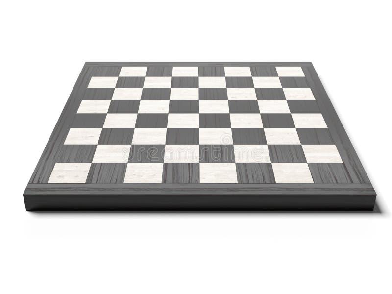 Pusty chessboard ilustracja wektor