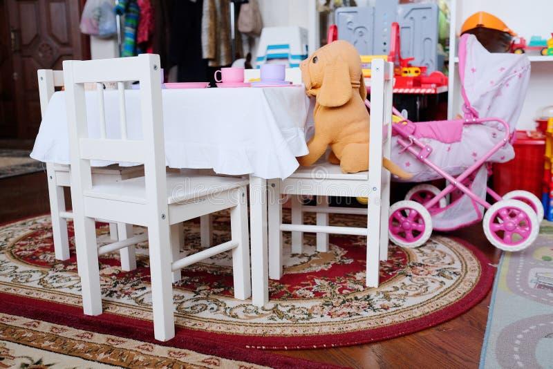 Pusty children playroom fotografia royalty free