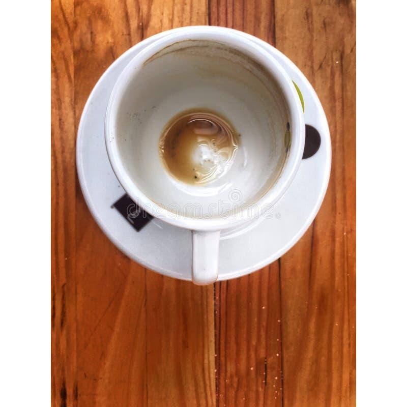Pusty coffey zdjęcie stock