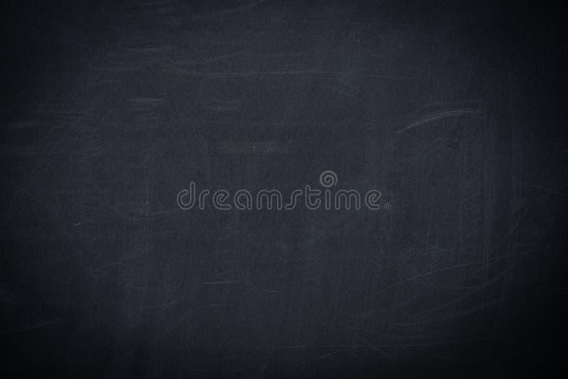pusty czerni szkoły chalkboard tło zdjęcia royalty free