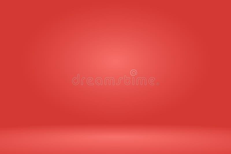 Pusty czerwony pracowniany izbowy tło również zwrócić corel ilustracji wektora royalty ilustracja