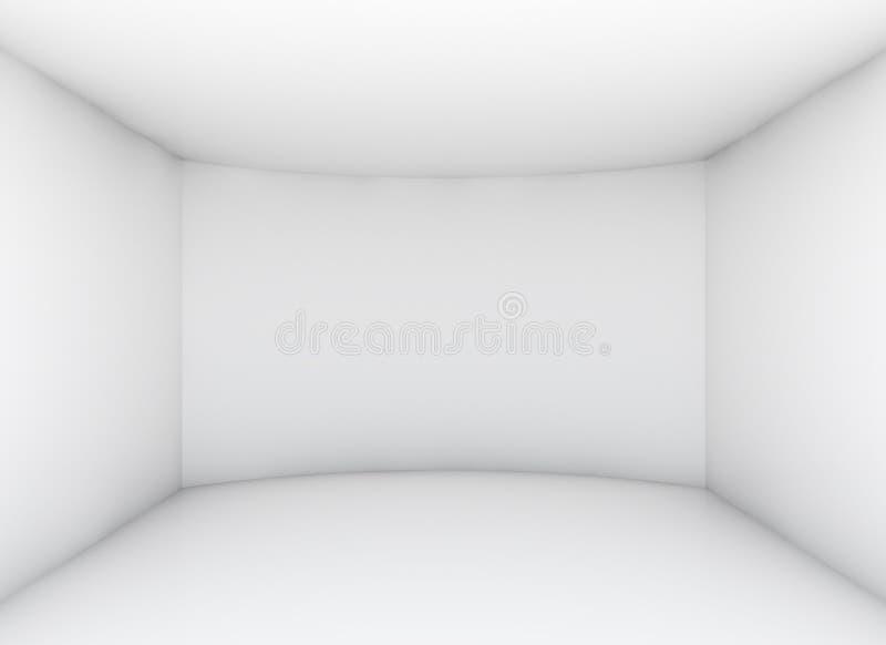 Pusty czysty pokój dla powystawowego produktu zdjęcie stock