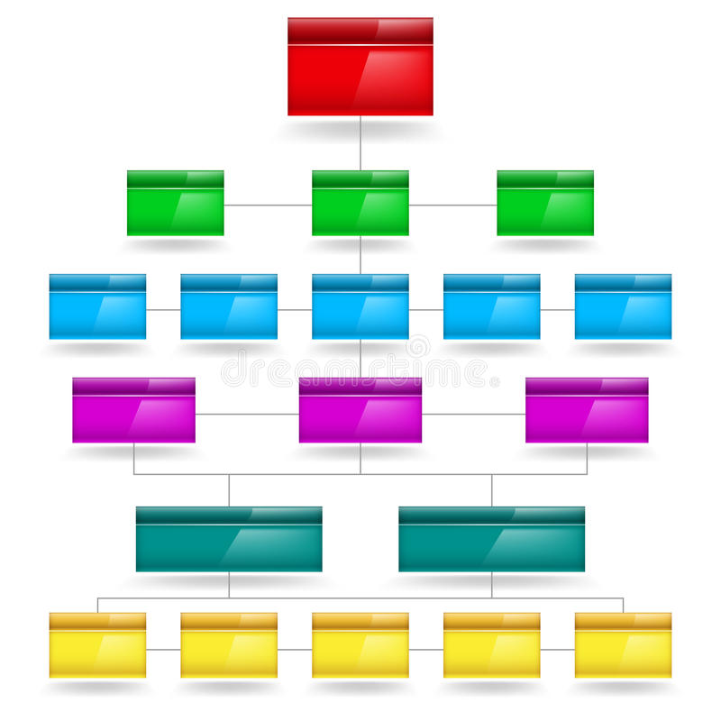 Pusty Diagram ilustracji