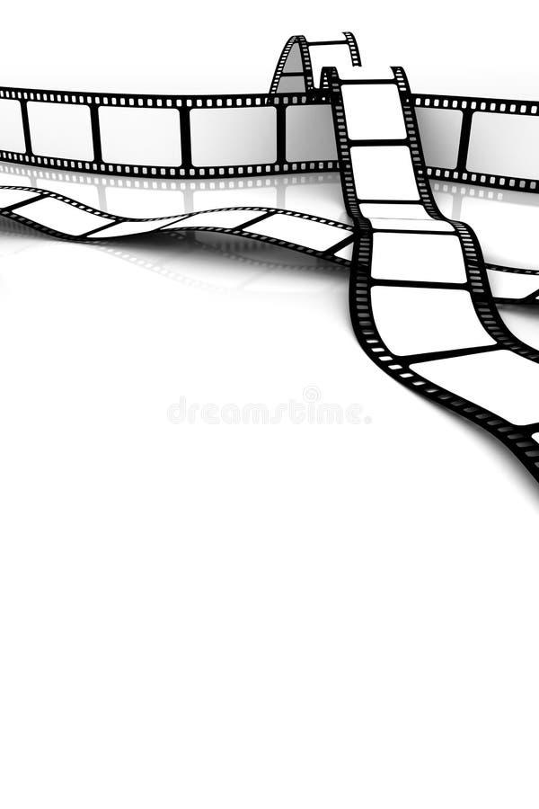 pusty film royalty ilustracja