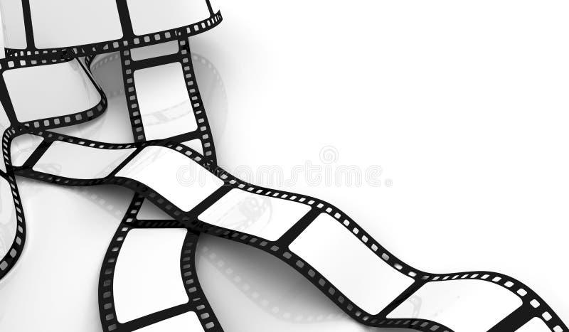 pusty film ilustracja wektor