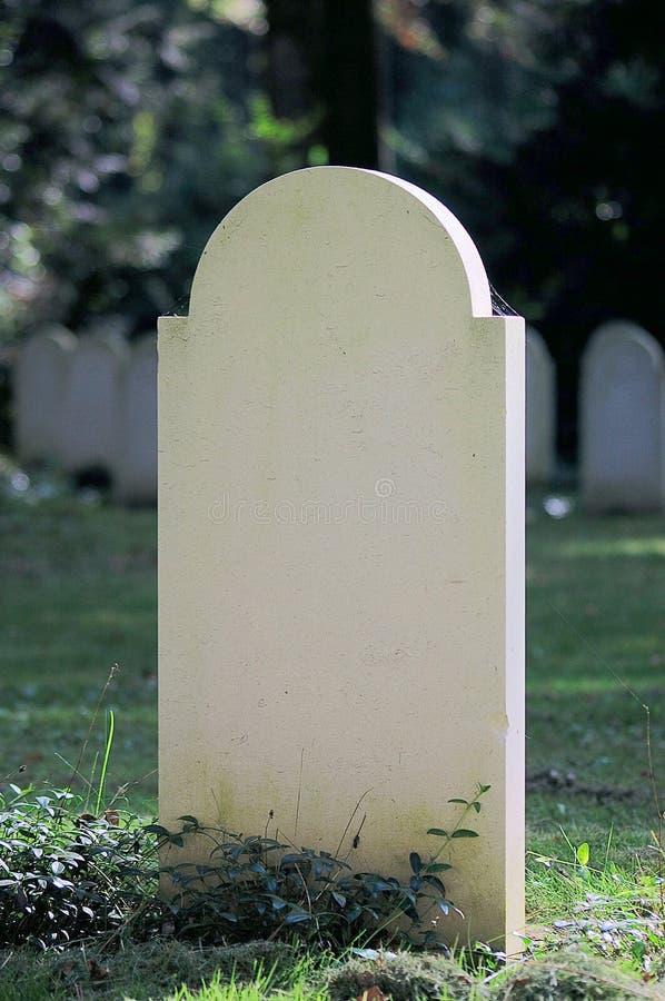 pusty gravestone zdjęcie royalty free