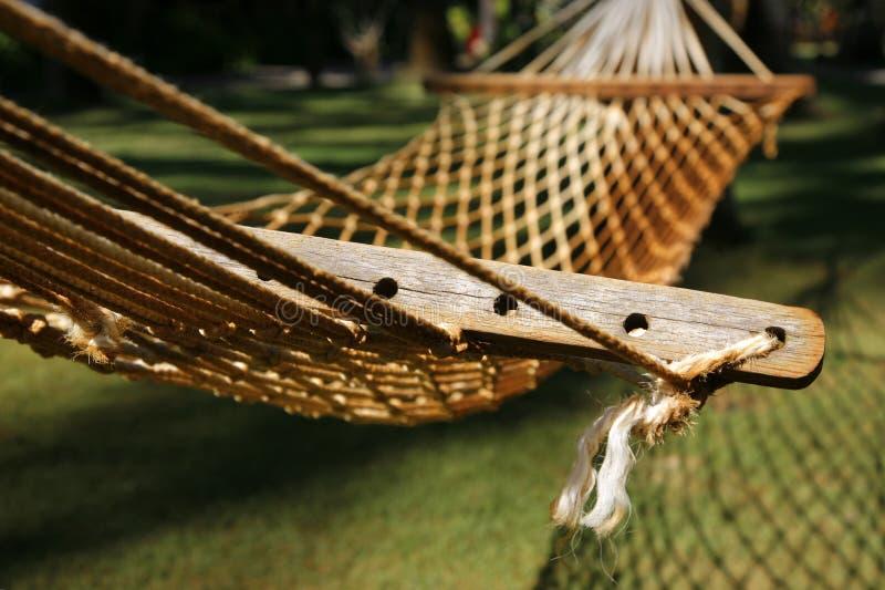 pusty hammock zdjęcie royalty free