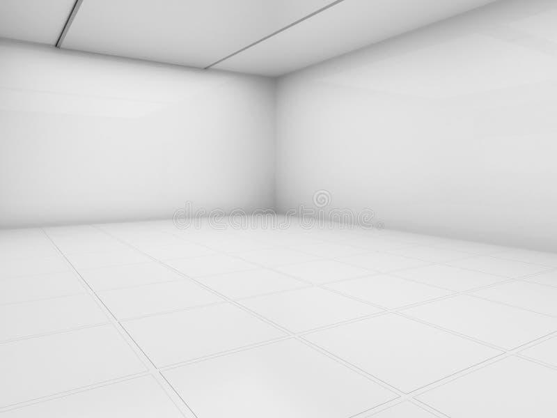 pusty izbowy biel ilustracji