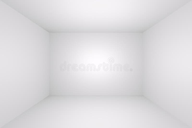 pusty izbowy biel royalty ilustracja