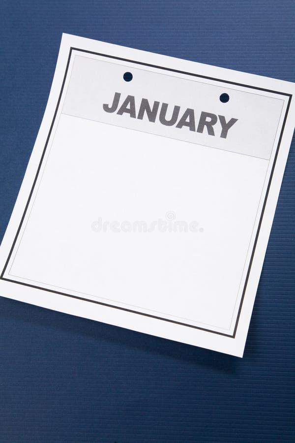 pusty kalendarz zdjęcia royalty free