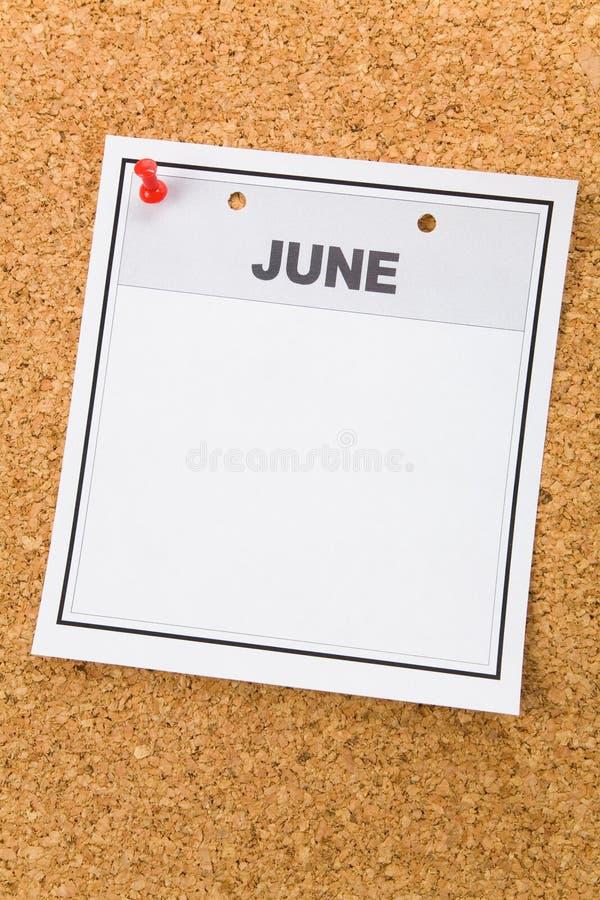 pusty kalendarz zdjęcia stock