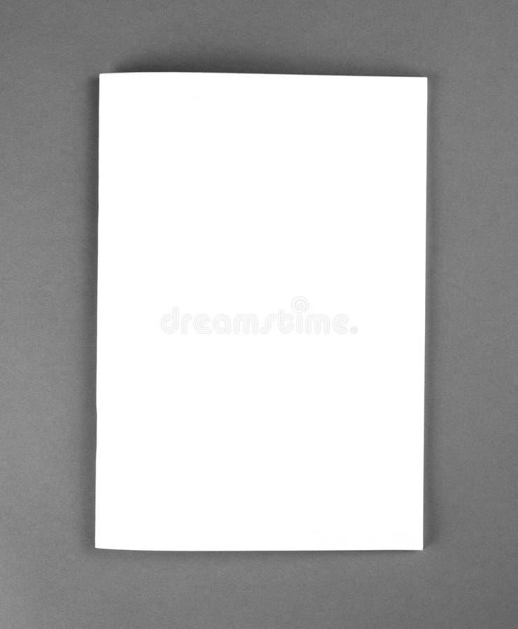 Pusty katalog, broszurka, magazyny, książka egzamin próbny up zdjęcie stock