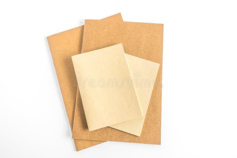 Pusty katalog, magazyn, książkowy szablon z miękkimi cieniami przygotowywający obrazy stock
