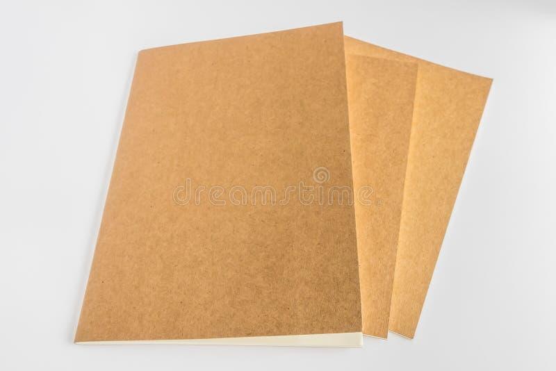 Pusty katalog, magazyn, książkowy szablon z miękkimi cieniami przygotowywający obrazy royalty free