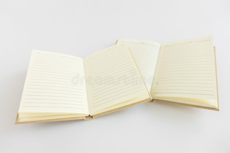 Pusty katalog, magazyn, książkowy szablon z miękkimi cieniami przygotowywający obraz royalty free
