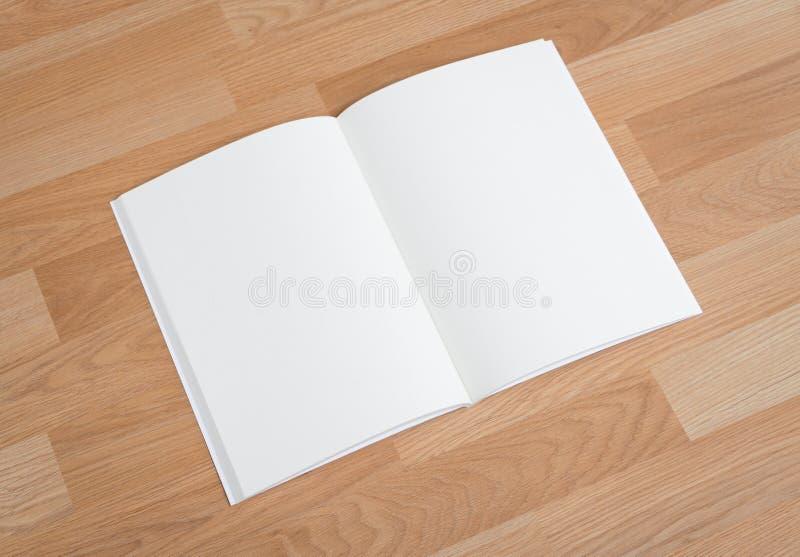 Pusty katalog, magazyny, książka egzamin próbny up zdjęcie royalty free