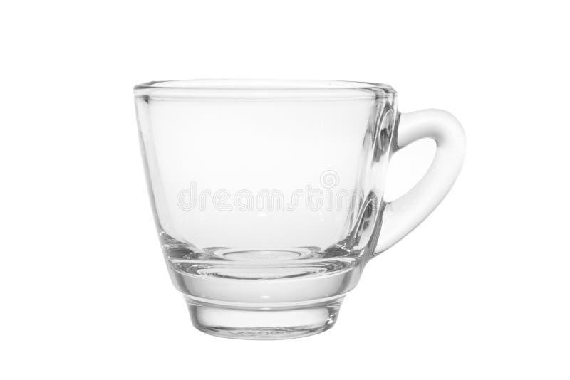 Pusty kawa espresso strzału szkło fotografia royalty free