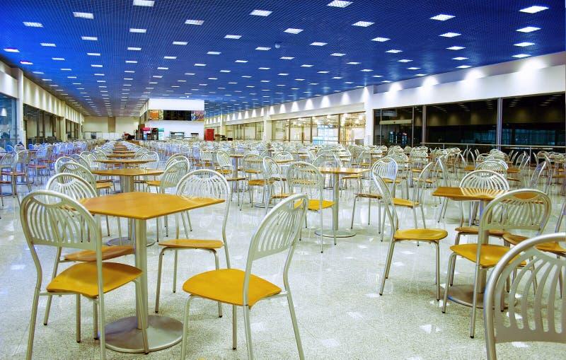pusty kawiarni publik obrazy stock