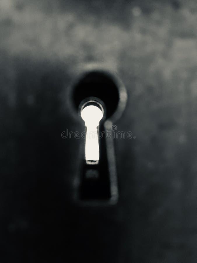 Pusty keyhole zdjęcia royalty free