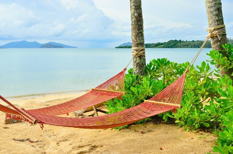 Pusty kiwanie w plaży fotografia royalty free