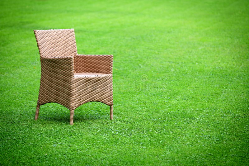 pusty krzesła czekanie fotografia stock