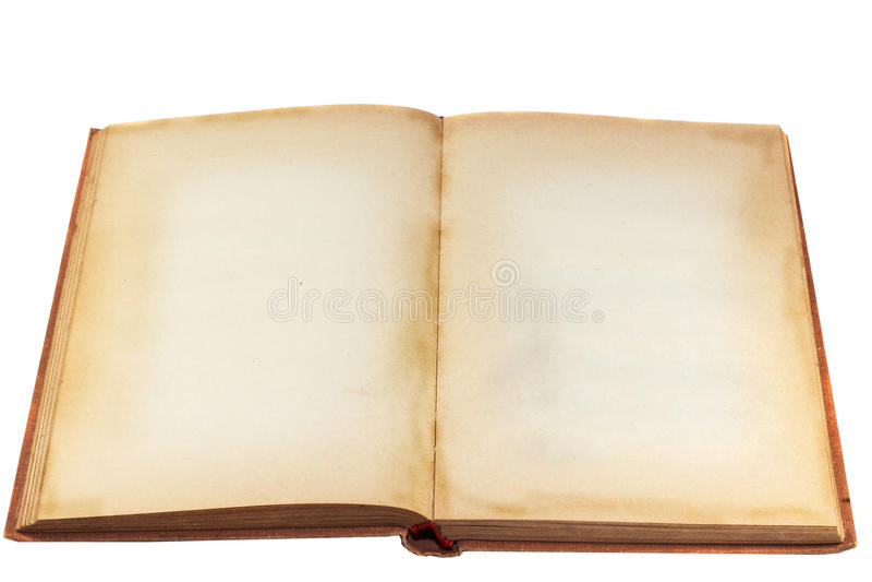 pusty książkowy stary obraz royalty free