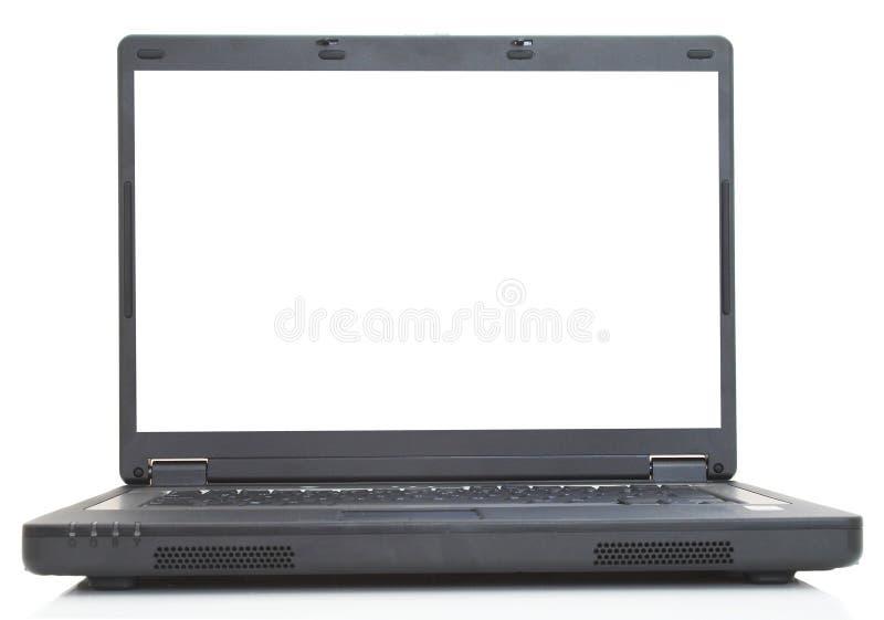 pusty laptop zdjęcie royalty free