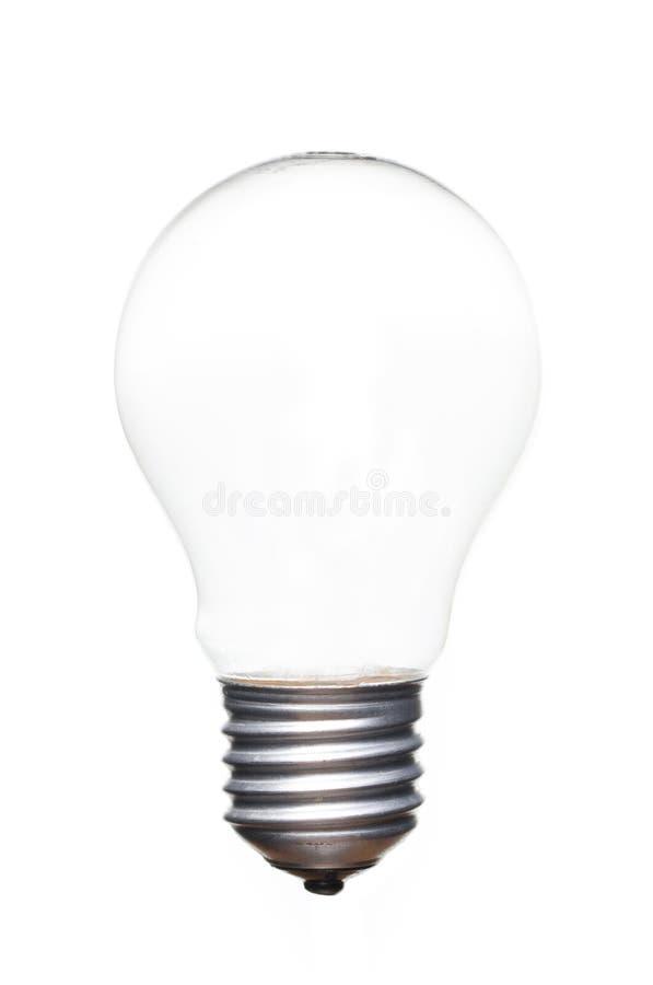 Pusty Lightbulb drucik obrazy stock