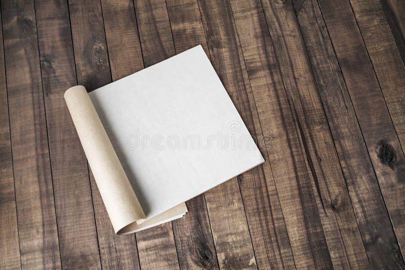 Pusty magazyn lub katalog fotografia stock