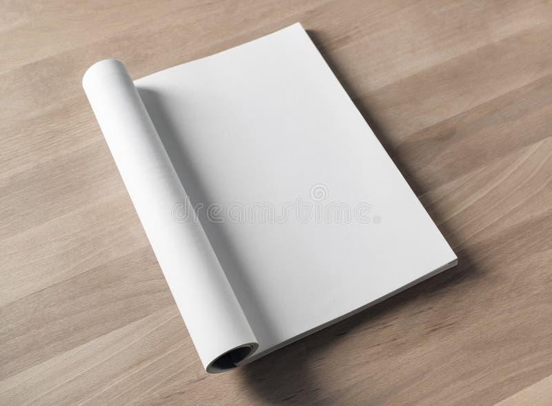 Pusty magazynu egzamin próbny zdjęcia stock