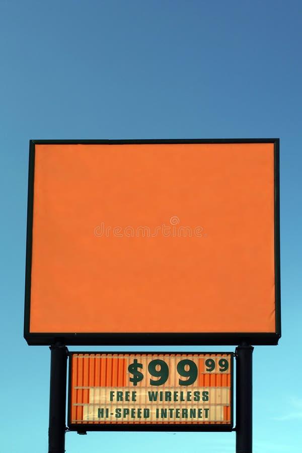 pusty motelu znak zdjęcia stock