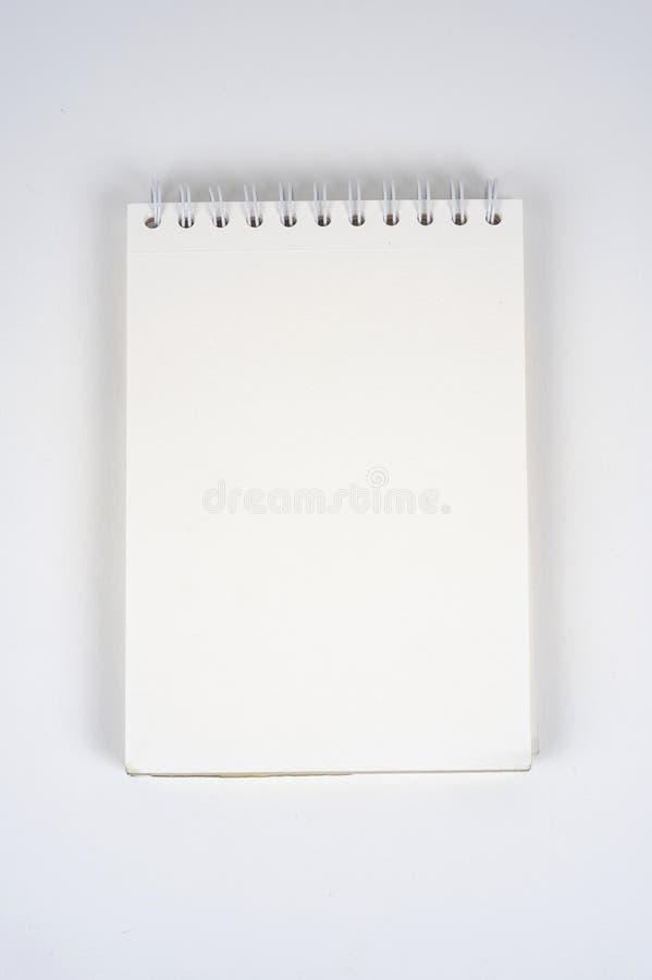 Pusty notatnik obrazy royalty free