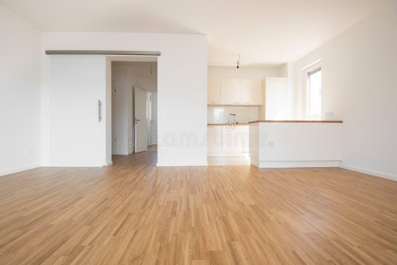 Pusty nowy mieszkanie zdjęcia royalty free