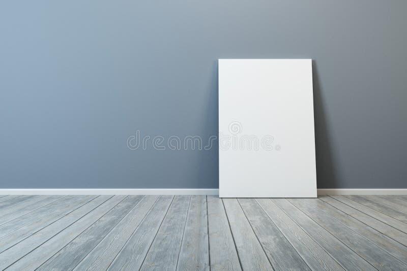 Pusty obrazek w pokoju zdjęcie stock
