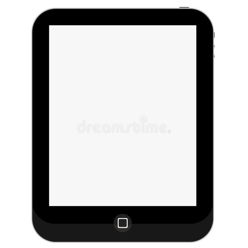 pusty ochraniacza komputeru osobisty ekranu pastylki dotyk royalty ilustracja