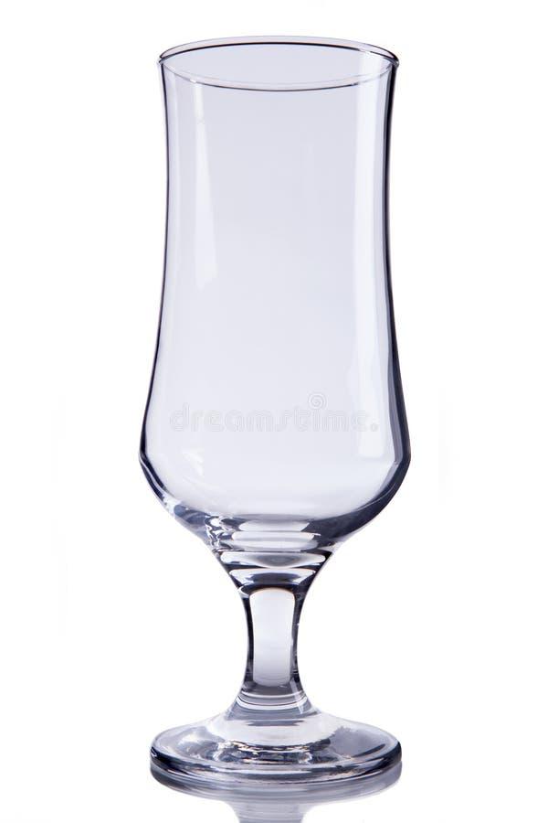 Pusty piwny szkło zdjęcia stock