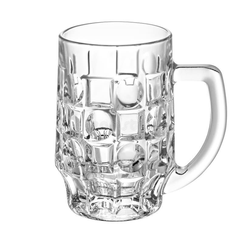 Pusty piwny szkło dla piwa zdjęcia stock
