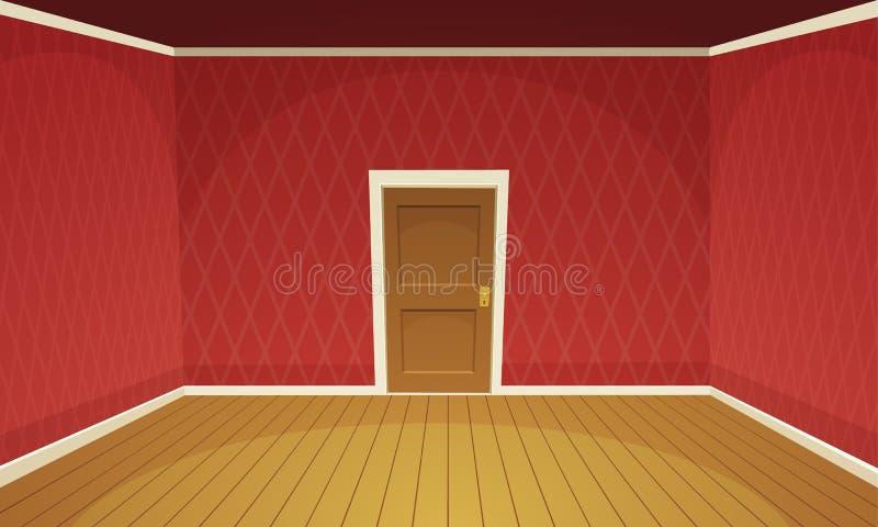 pusty pokój royalty ilustracja