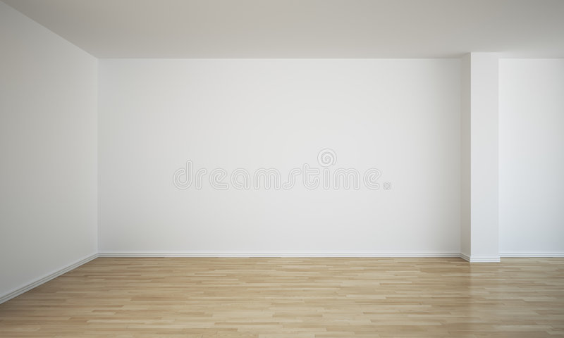 pusty pokój ilustracja wektor