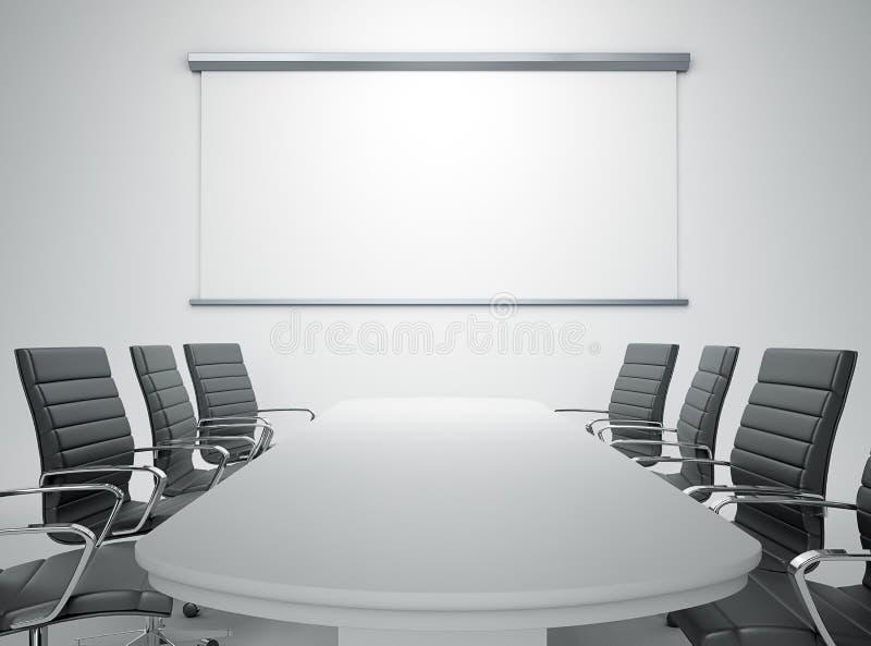 pusty pokój konferencyjny ilustracji
