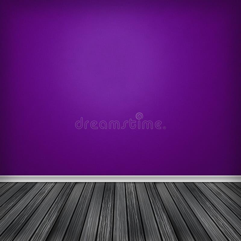 Pusty pokój, wnętrze royalty ilustracja