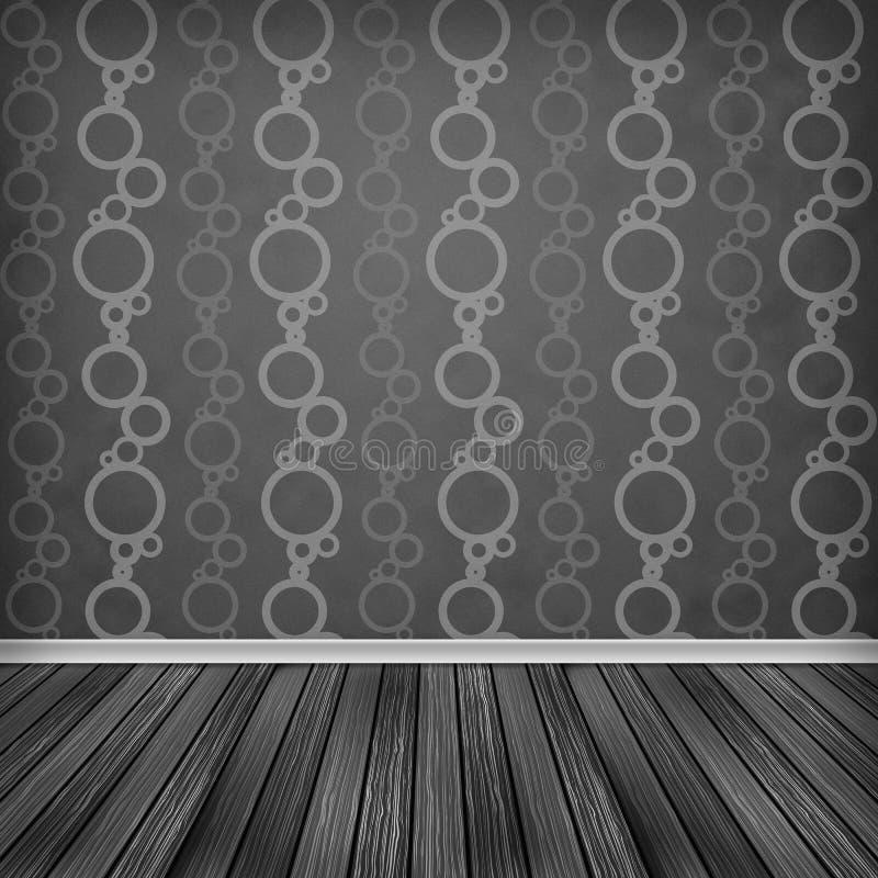 Pusty pokój, wnętrze ilustracja wektor