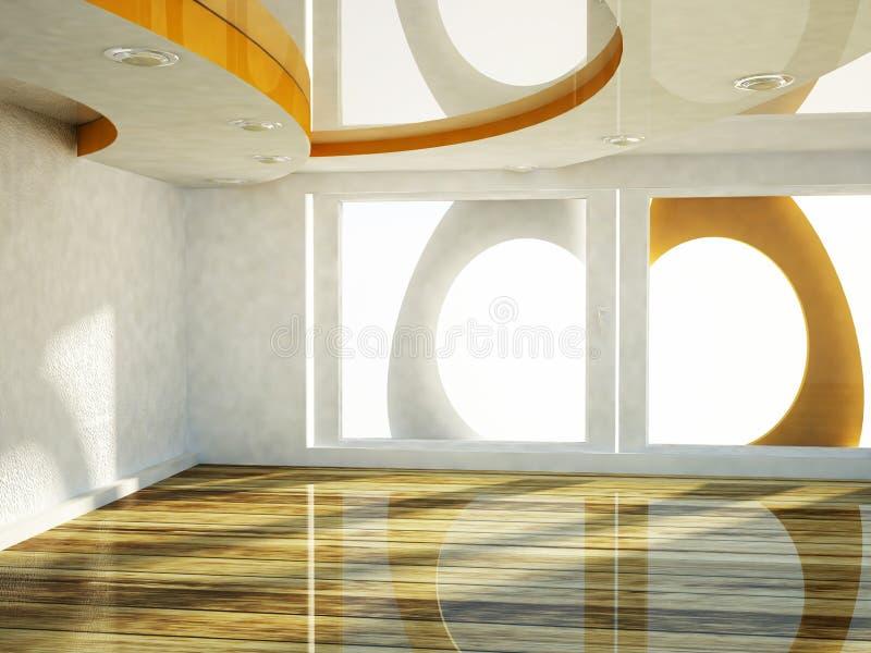 Download Pusty pokój z okno ilustracji. Ilustracja złożonej z elegancja - 41954010